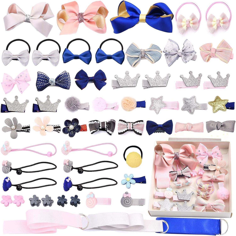 Lovely 5 PCS Kids Baby Girls Bow Hair Pin Hair Clip Mini Bowknot Clips Hairpins