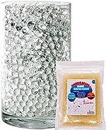 SooperBeads 20,000 Vase Filler Beads Gems Water Growing Crystal Clear Translucent