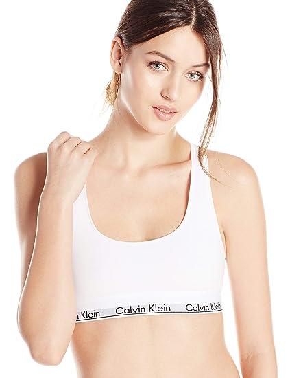 promo code 27fc4 25ca8 Top deportivo para dama de algodón Calvin Klein