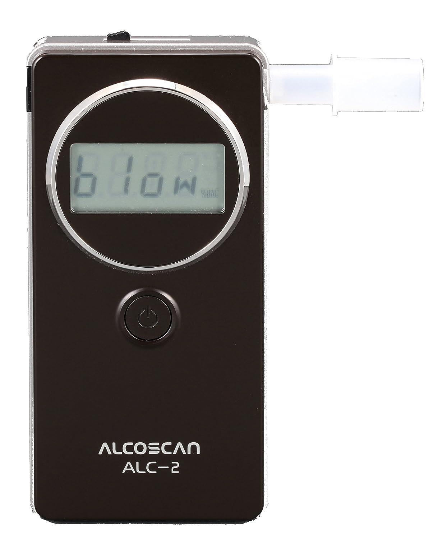 ETILOMETRO PROFESSIONALE PORTATILE ALC-2 con Sensore Elettrochimico + Valigetta rigida Alcoscan