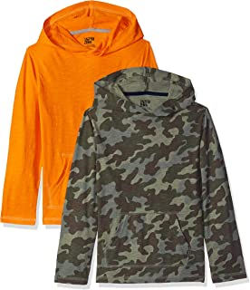 Spotted Zebra Boys Toddler /& Kids 2-Pack Crew Sweatshirts