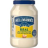 Hellmann's Real, Mayonnaise, 48 oz