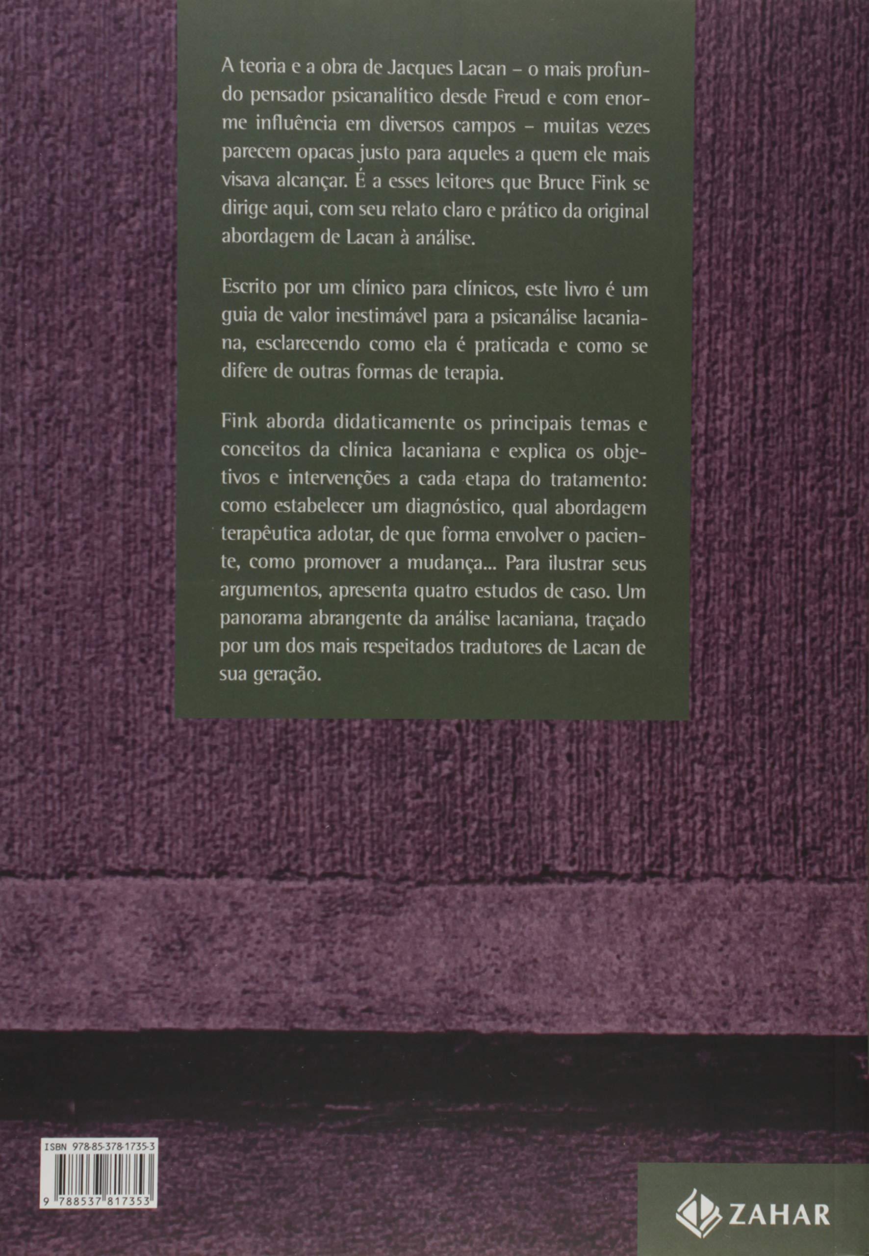 Introdução Clínica à Psicanálise Lacaniana' por Bruce Fink