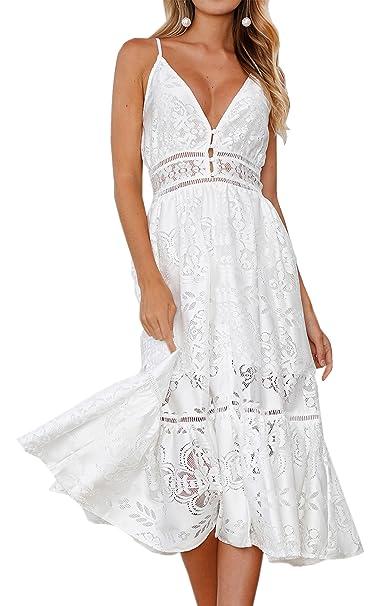 Sexy white summer dresses
