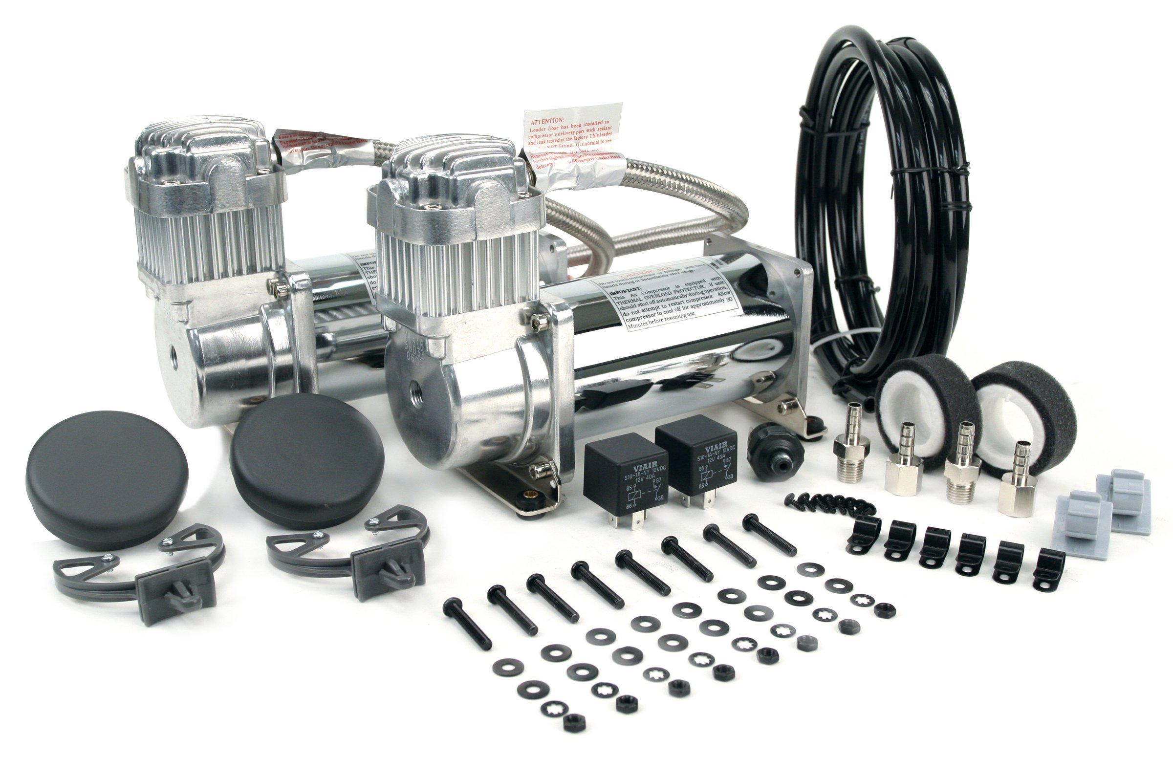 VIAIR 400C 150 PSI Dual Performance Value Pack - Chrome by VIAIR (Image #1)