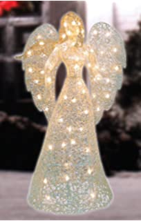 Lighted Angel Outdoor Christmas Decorations.Amazon Com 5 Lighted Praying Angel With Dove Outdoor Christmas