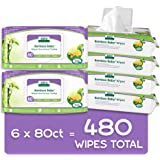 Aleva Naturals Bamboo Baby Wipes | Perfect for Sensitive Skin | Extra Strong and Ultra Soft | Natural and Organic Ingredients