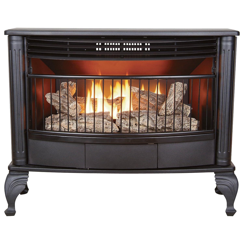 amazon com procom vent free dual fuel stove 25 000 btu model