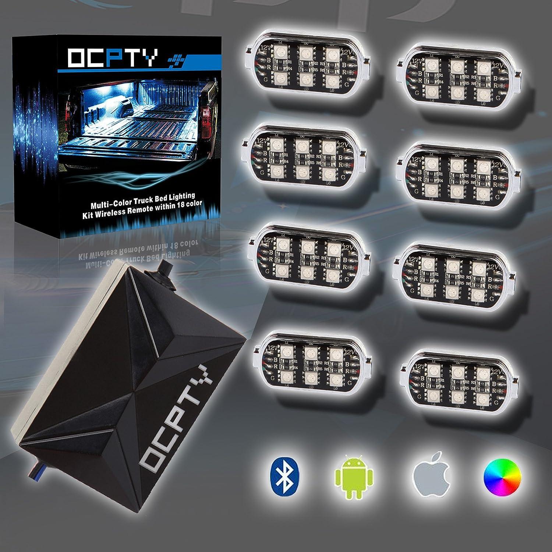 OCPTY - Kit de luces de neón multifunción, RGB, mando a ...