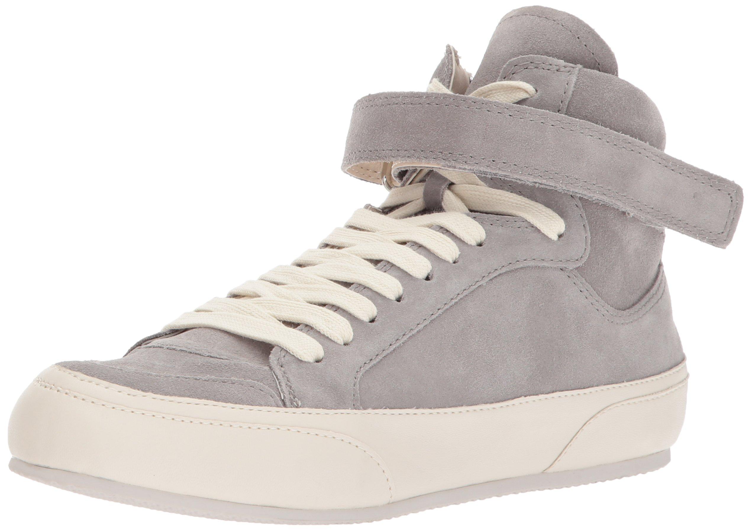 Dolce Vita Women's Westly Sneaker, Grey Suede, 8.5 Medium US