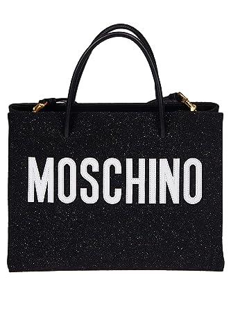 Moschino Porté Noir Pvc Sac Femme A746480082555 Épaule qMVUzpS