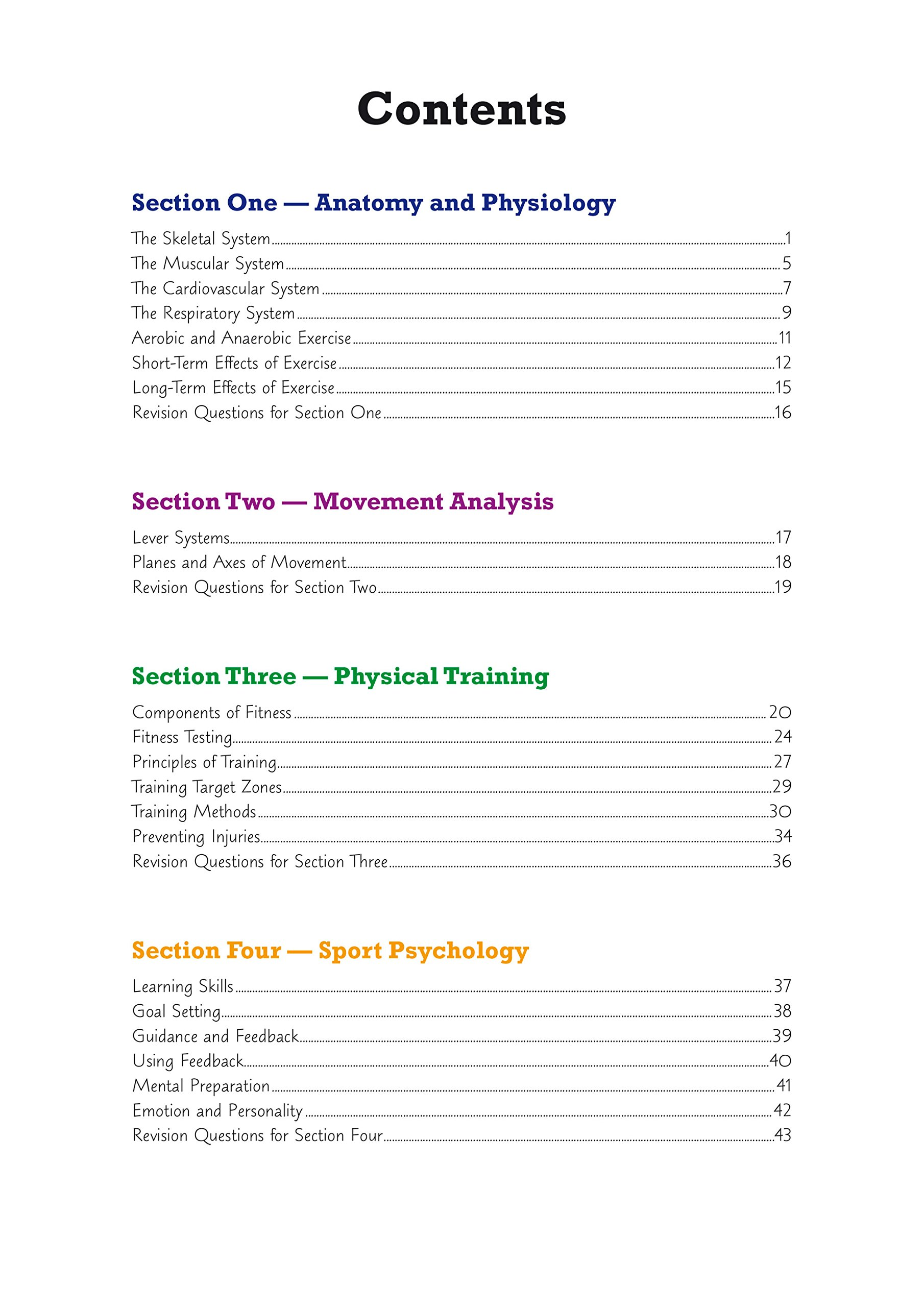 New GCSE Physical Education AQA Revision Guide - for the Grade 9-1 ...