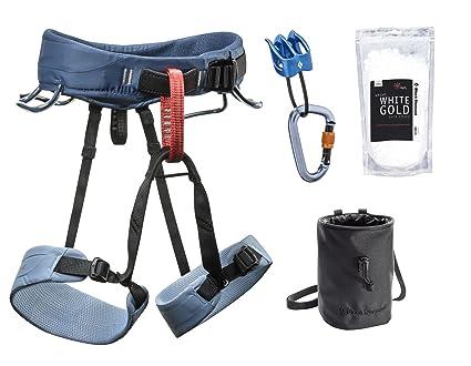Amazon.com : Black Diamond Motum Climbing Harness Package ...