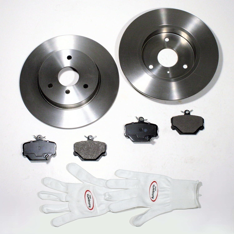 Bremsscheiben/Bremsen + Bremsbelä ge vorne Autoparts-Online