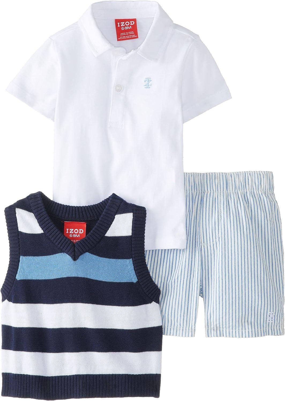 Baby Boys 3 Piece set Vest,Short set
