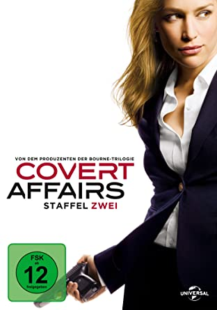 Covert Affairs - Staffel zwei [Alemania] [DVD]