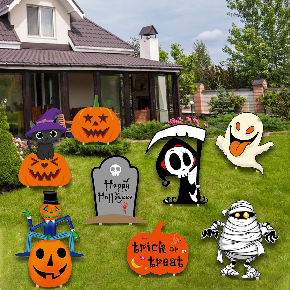 Halloween Yard Stakes Page Two
