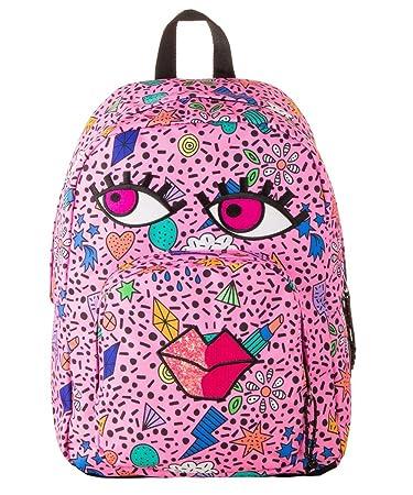 311218e93f Invicta Zaino Ollie Face Pack Fantasy Azalea Pink - S18-206001855434:  Amazon.it: Giochi e giocattoli