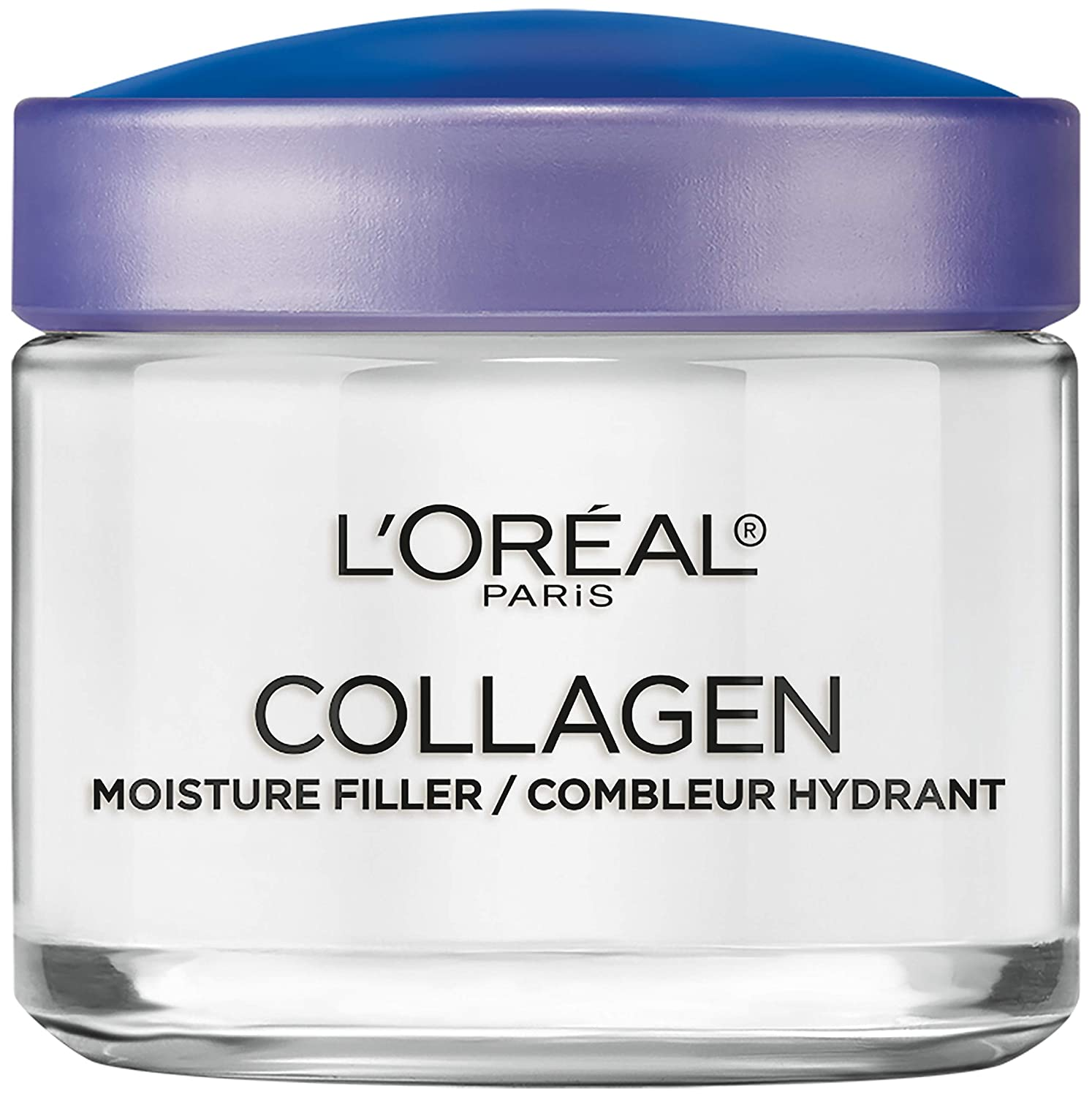 Collagen Face Moisturizer by L'Oreal Paris Skin Care I Day and Night Cream I Anti-Aging Face Cream to Smooth Wrinkles I Non-Greasy I 3.4 Ounce (Pack of 1)
