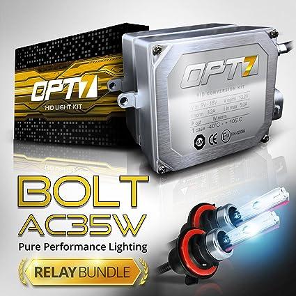 OPT7 Bolt AC 35w 9004 Bi Xenon HID Kit