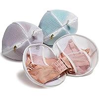 TENRAI Set of 3 (3 Medium) Bra Bags, Fits A-D cup, Delicates Laundry Bags, Bra Fine Mesh Wash Bag, Use YKK Zipper…
