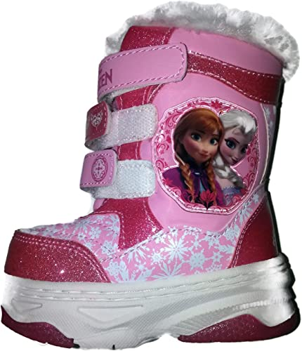 Disney Frozen Silver /& Blue Glitter Western Cowgirl Boots Toddler Girl Size 6
