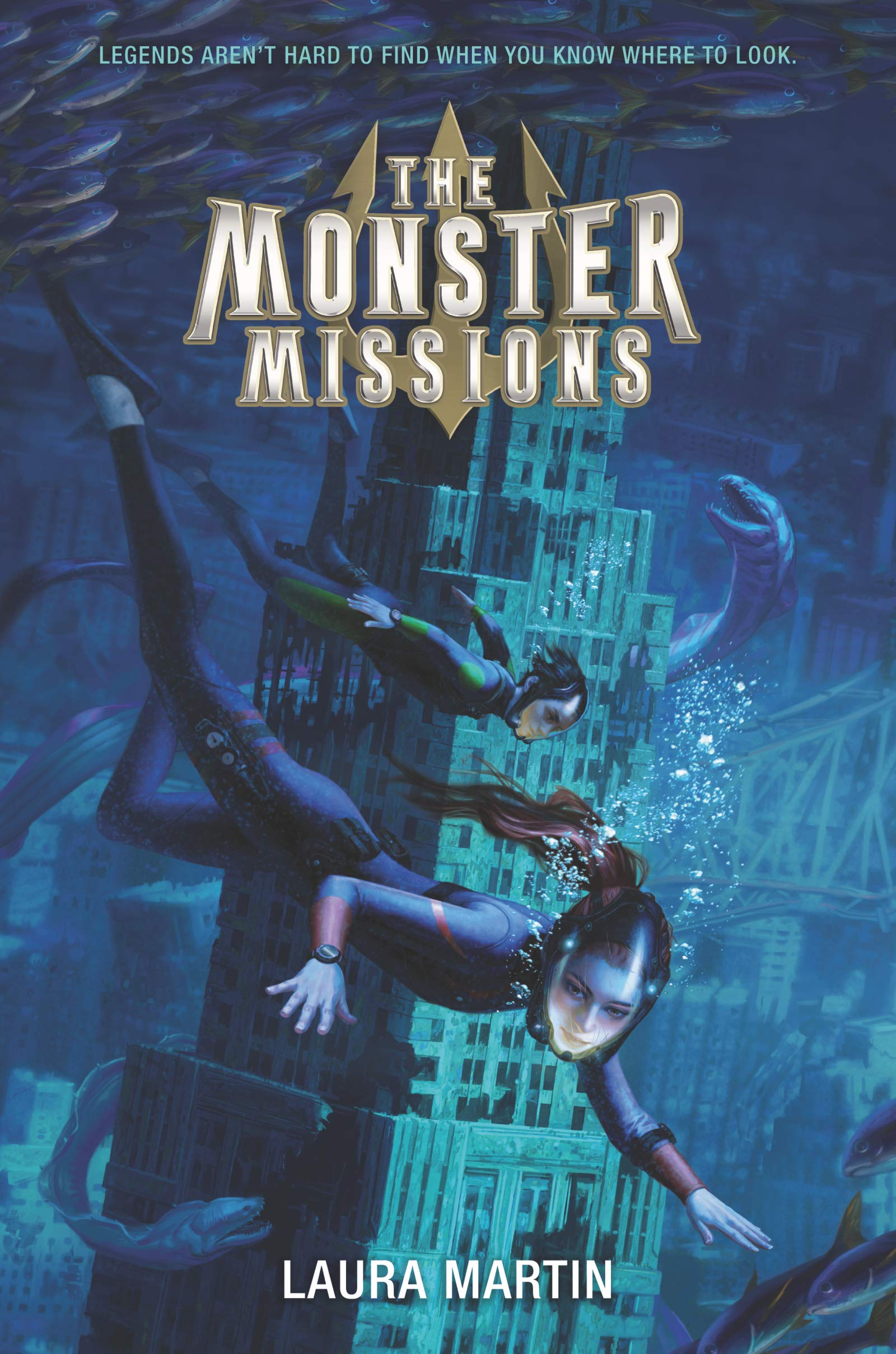 The Monster Missions: Martin, Laura: 9780062894380: Amazon.com: Books