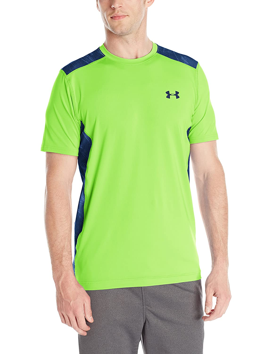 (アンダーアーマー) UNDER ARMOUR ヒットヒートギアSS(トレーニング/Tシャツ/MEN)[1257466] B00YQL2WK0 XXXX-Large|Fuel Green/Blackout Navy Fuel Green/Blackout Navy XXXX-Large