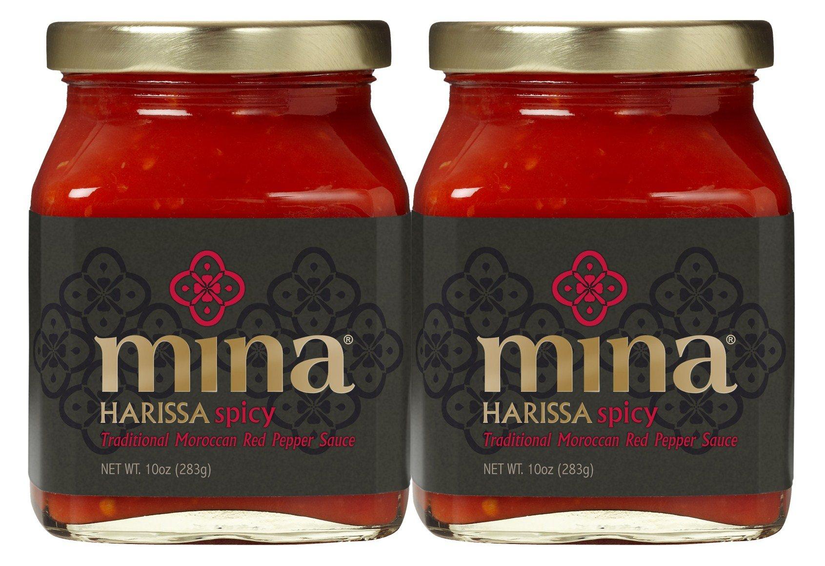 Mina Harissa Spicy 2 Pack 10oz