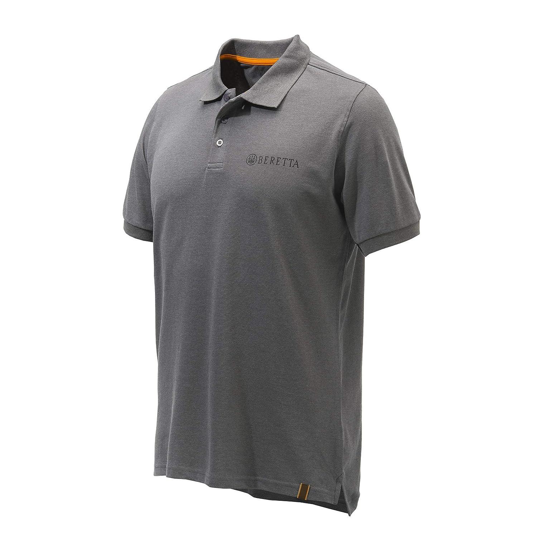 Beretta Körperschaftlich Gestreiftes Polohemd Grau Mp013 B07P83LQRN Poloshirts Super Handwerkskunst