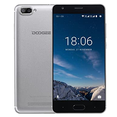 Mobile Phones Cheap, DOOGEE X20 Dual Sim Free Unlocked Smartphones, 3G  Android 7 0 Phone with 5 Inch IPS Display - MT6580 Quad Core Smartphone -  1GB