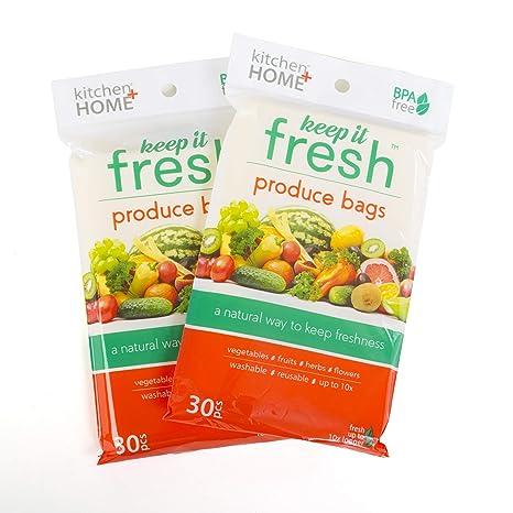 Amazon.com: Keep it Fresh BPA - Juego de 50 bolsas ...