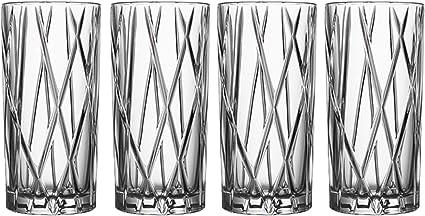 Orrefors City 11 6 Ounce Highball Glass Set Of 4 Bergeirwystane