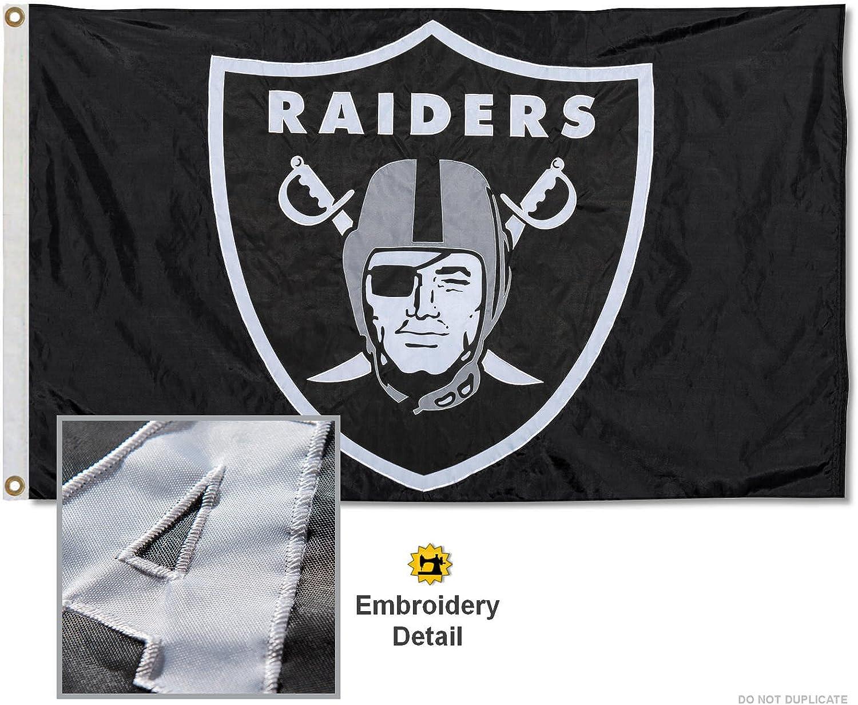 WinCraft Oakland Raiders Large NFL 3x5 Flag
