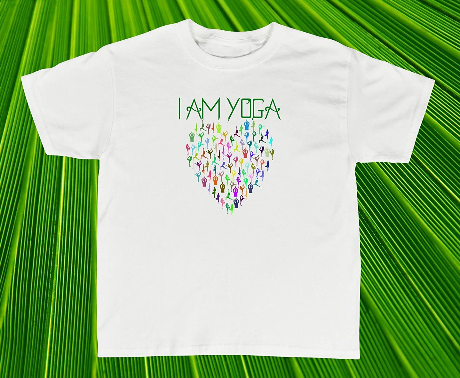 Amazon.com: Yoga Shirt I Am Yoga T-Shirts Yoga Classes ...