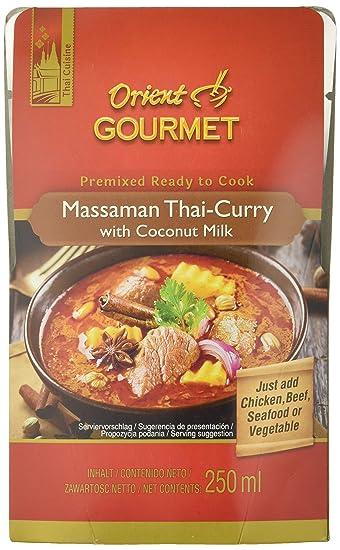 Orient Gourmet, Salsa de curry (Leche de coco) - 12 de 250 ml