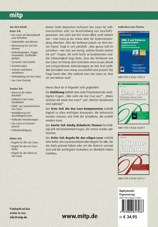 Use Cases Effektiv Erstellen (German Edition): Alistair Cockburn ...