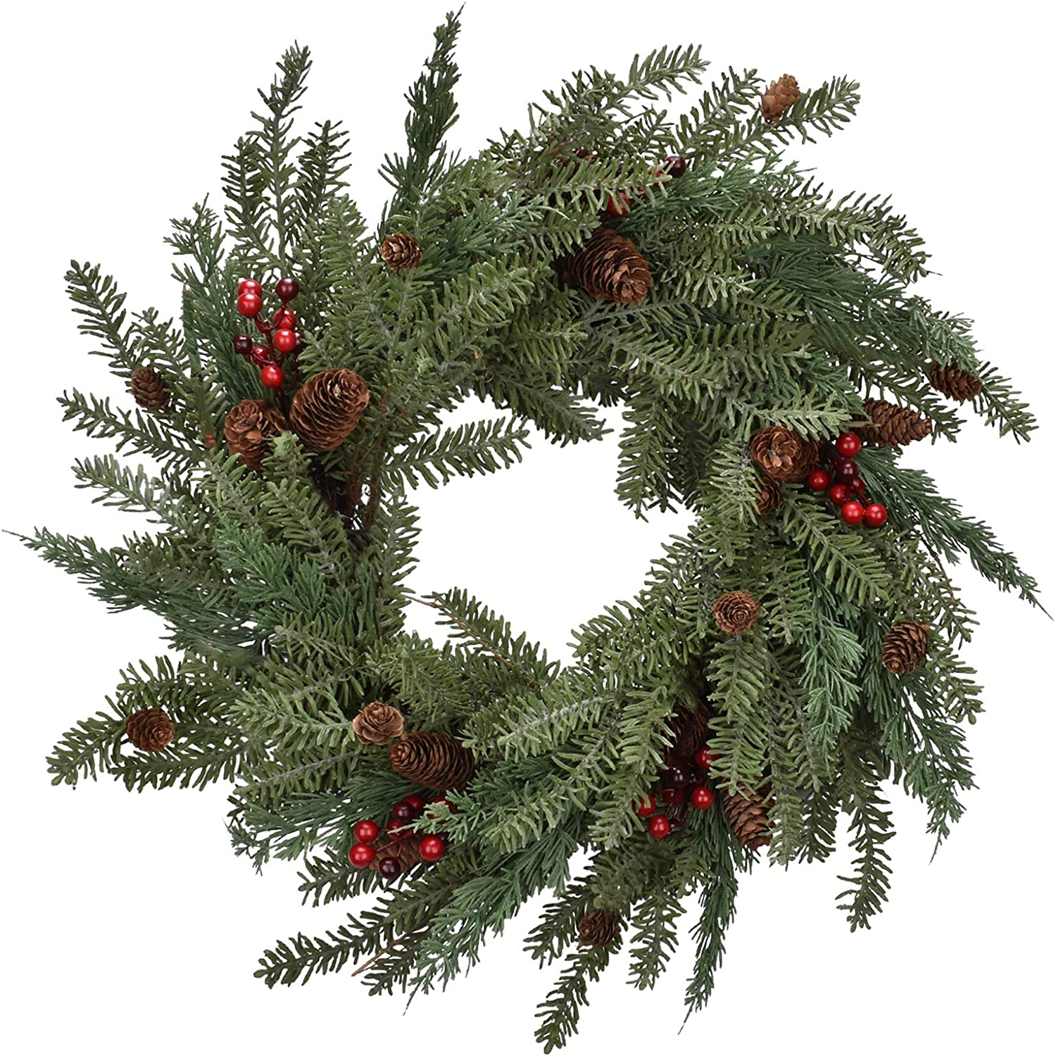 Cloris Art Christmas Wreaths for Max 55% Limited time for free shipping OFF Front 22 Door Artificial - Inch