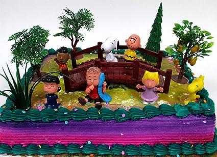 Surprising Amazon Com Disney Peanuts Charlie Brown Snoopy 12 Piece Birthday Personalised Birthday Cards Paralily Jamesorg