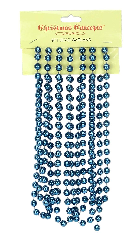 Baby Pink Christmas Decorations Christmas Bead Garlands 9ft Christmas Bead Chain