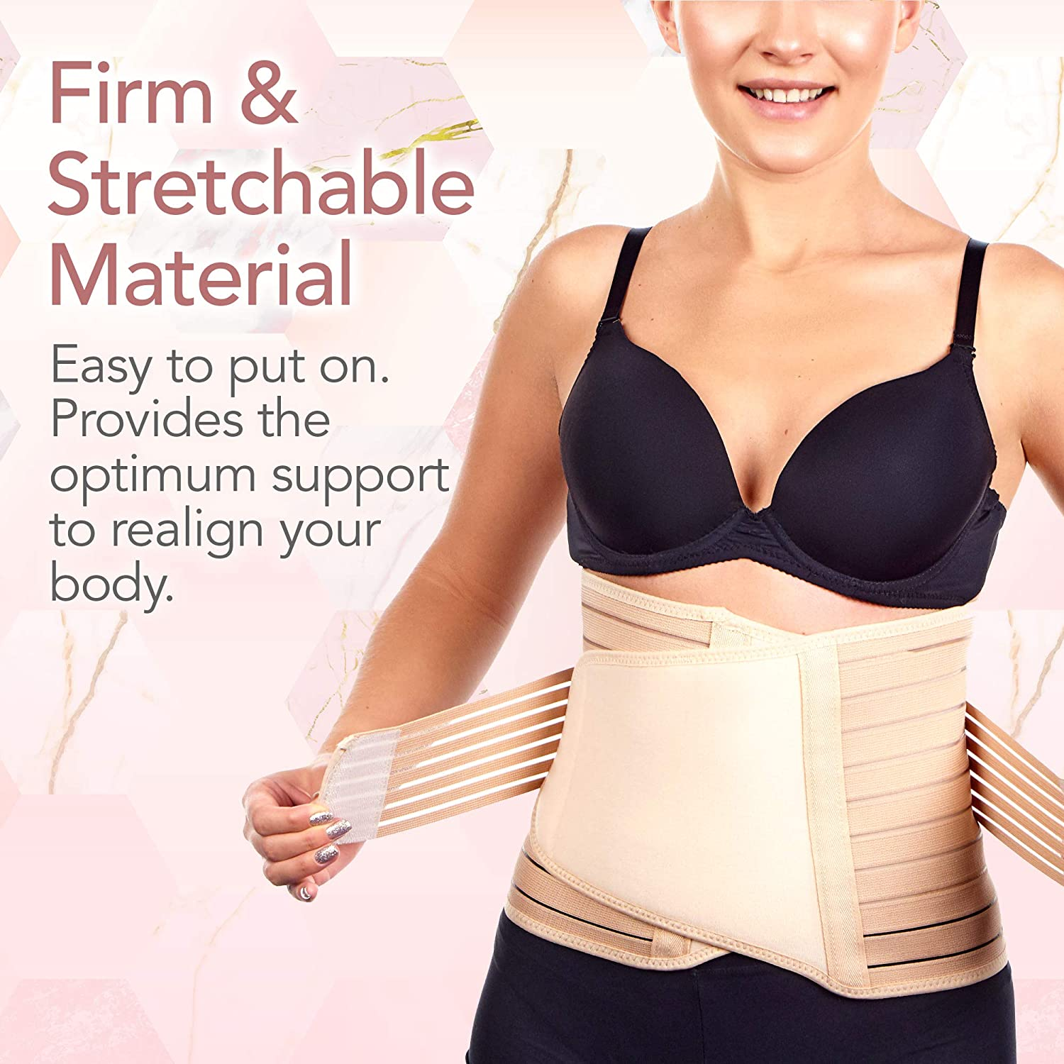 Postpartum Postnatal After Pregnancy Recovery Support Shapewear Tummy Control UK