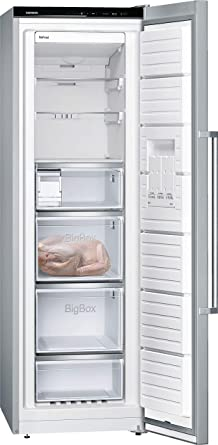 Siemens iQ500 GS36NAI4P Independiente Vertical 242L A+++ Acero ...
