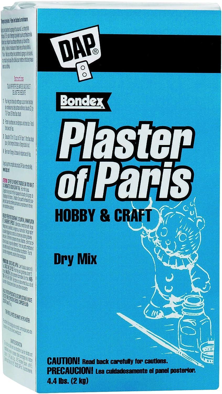 Bulk Buy: DAP Plaster Of Paris 4.4 lb. Box White 53005 (6-Pack) Inc.