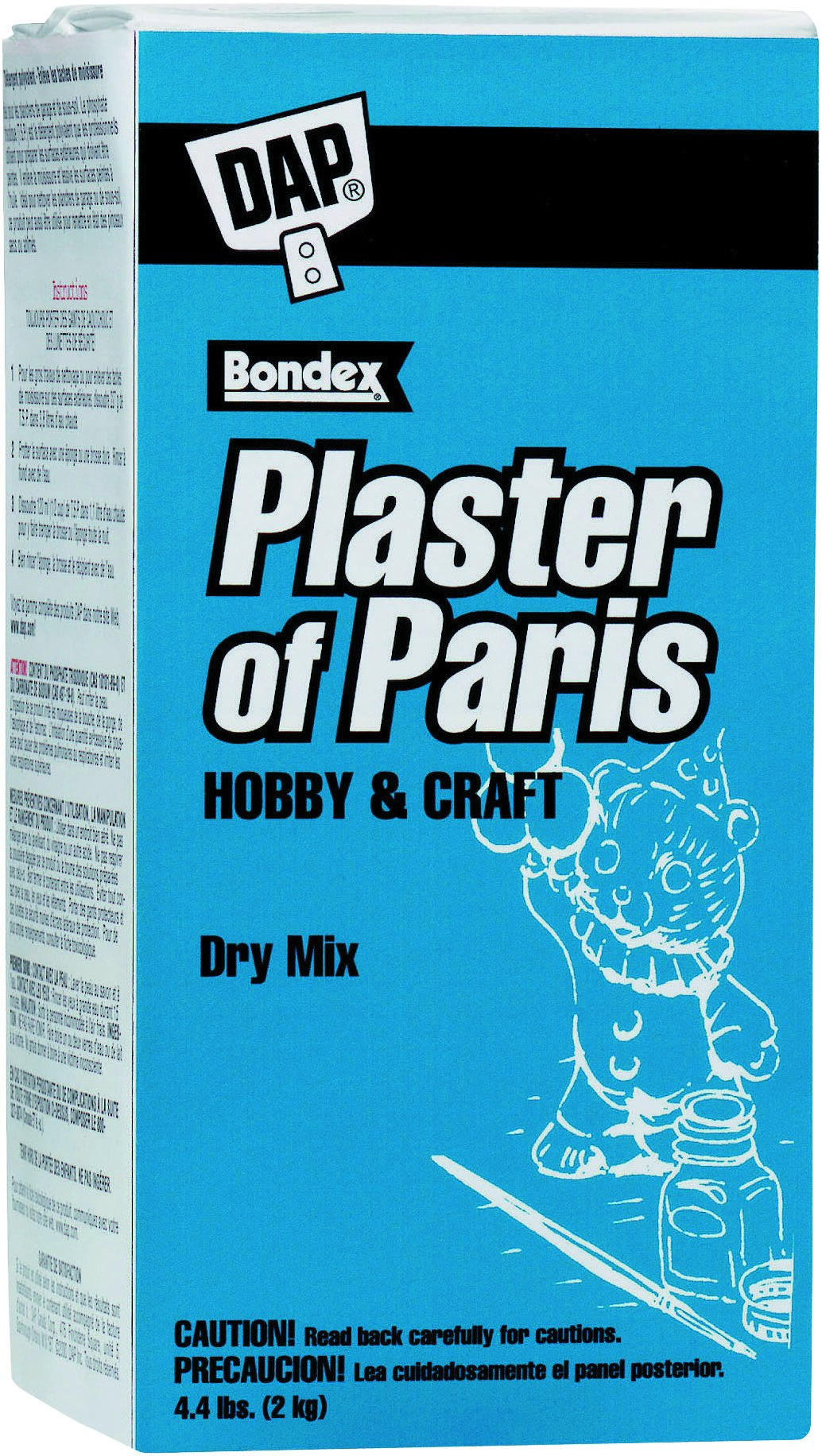 Dap Bulk Buy Plaster of Paris 4.4 lb. Box White 53005 (6-Pack)
