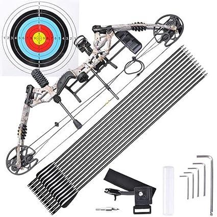 Amazon com : Pro Compound Right Hand Bow Kit Arrow Archery