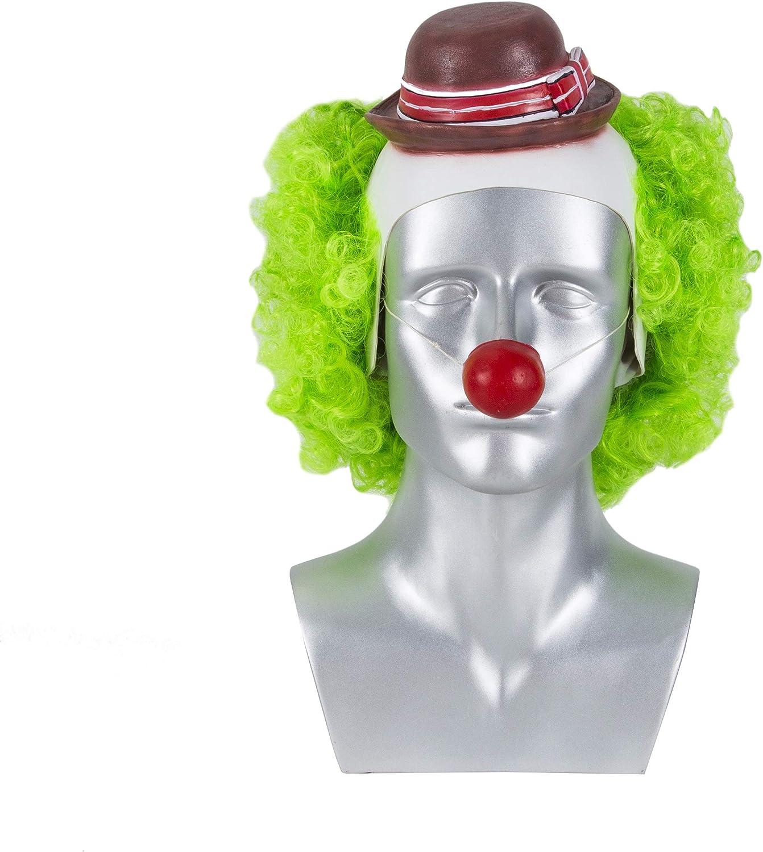 Joker Mask,Movie Joker Mask,Joker Cosplay Mask for Men Boys