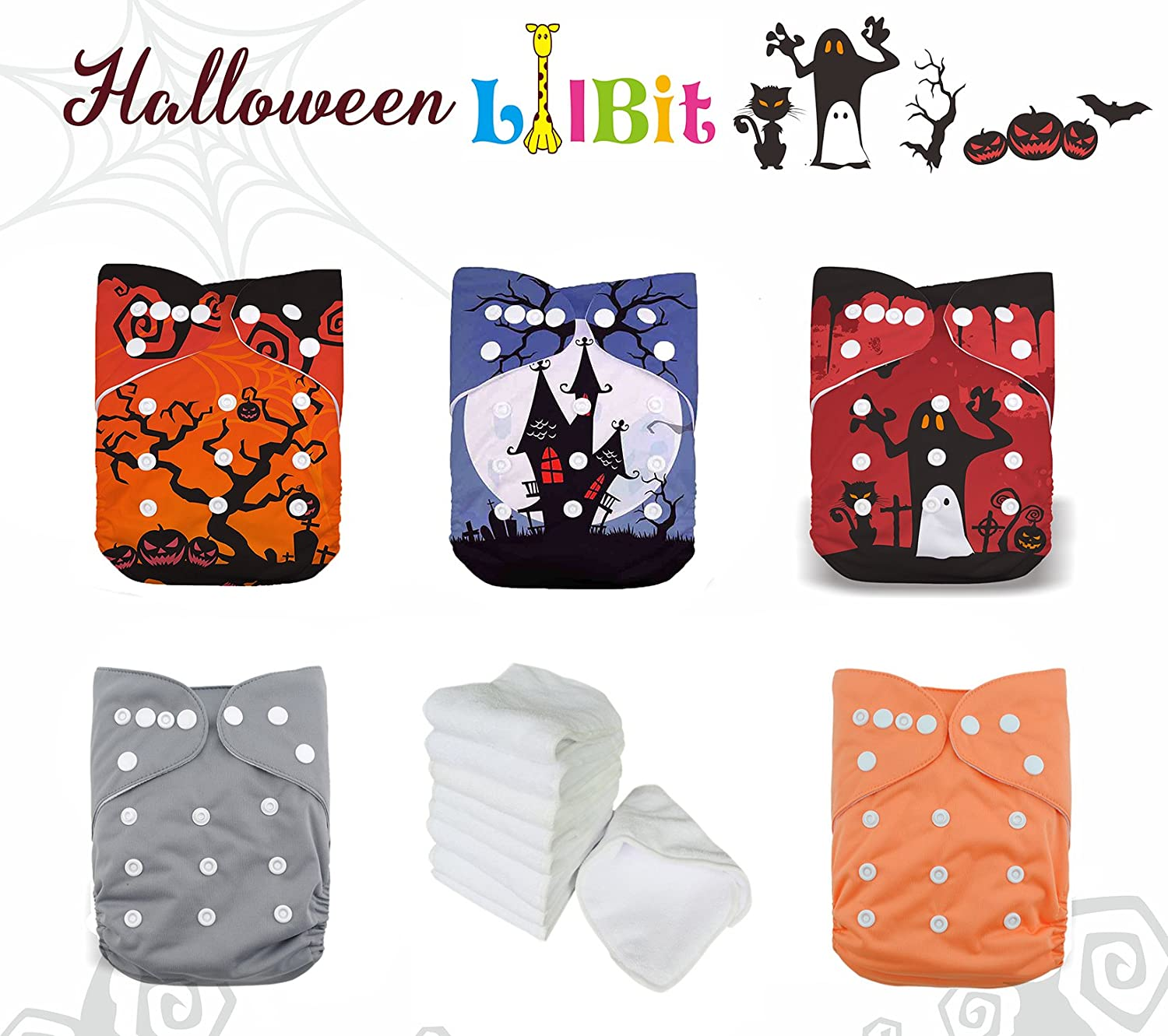 LilBit Baby Pocket Cloth Nappy With a Microfiber Insert