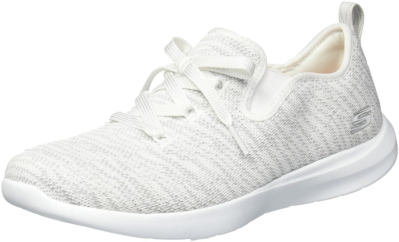 Skechers Women's Studio Comfort Sneaker B076MVRHTX 10 B(M) US|White Light Grey