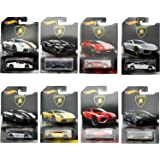 Hot Wheels Cars Collectible Lamborghini Full set of 8 Size 1:64