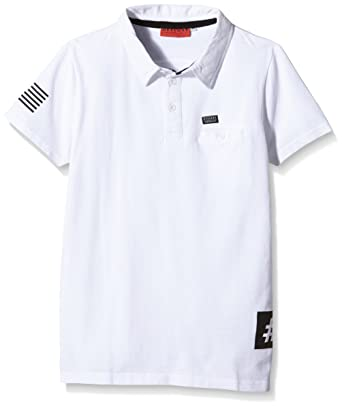 dde7b76d9627b Deeluxe FORZITO Kid Polo, Blanc (White), FR (Taille Fabricant: 12 ...
